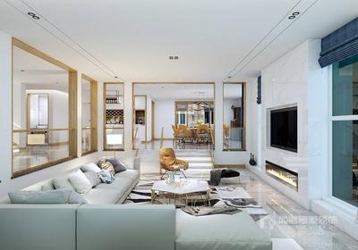深圳857平米现代简约风格装修装修设计案例