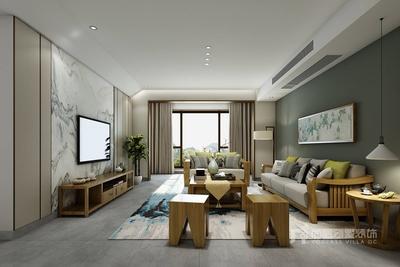 深圳200平米现代简约风格装修装修设计案例