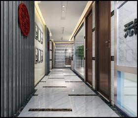 新区办公室装修设计案例