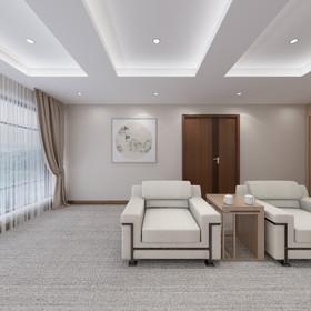上海浦江名邸2-2601装修设计案例