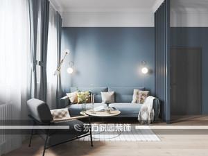 青岛120㎡欧式风格装修效果图