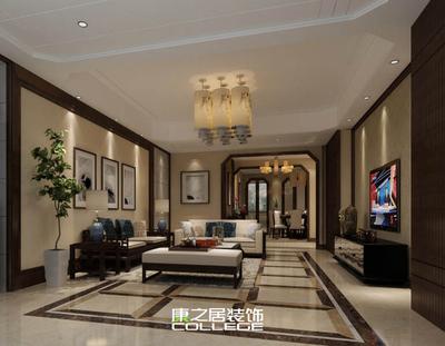 南昌明月九龙湾现代风格四房装修设计装修设计案例