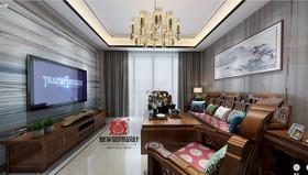博罗城市代号一栋A座203豪宅装修设计案例