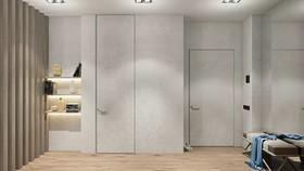 56m2北欧风,自然微妙的女性单身公寓装修设计案例