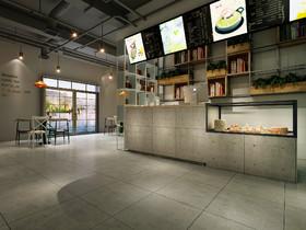 新华联披萨店装修设计案例
