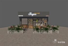 广州亚运城 29-3商铺法爵面包店装修设计案例