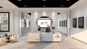 曼哈顿营销中心装修设计案例