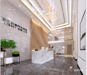 深圳市南山区方大城4栋1109,1110办公室设计装修设计案例