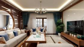 碧桂园十里江湾新中式装修设计案例