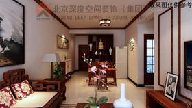 锦江庭院新中式装修设计案例
