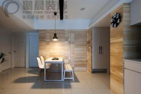[鹏晨装饰]白金湾100平现代简约装饰效果图装修设计案例