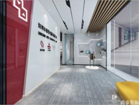深圳市德誉电梯有限公司办公室装修设计案例