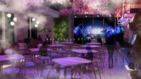 山南酒吧装修设计案例