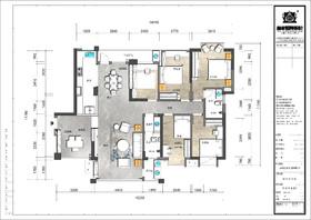 世纪东方城A6栋2单元1403装修设计案例