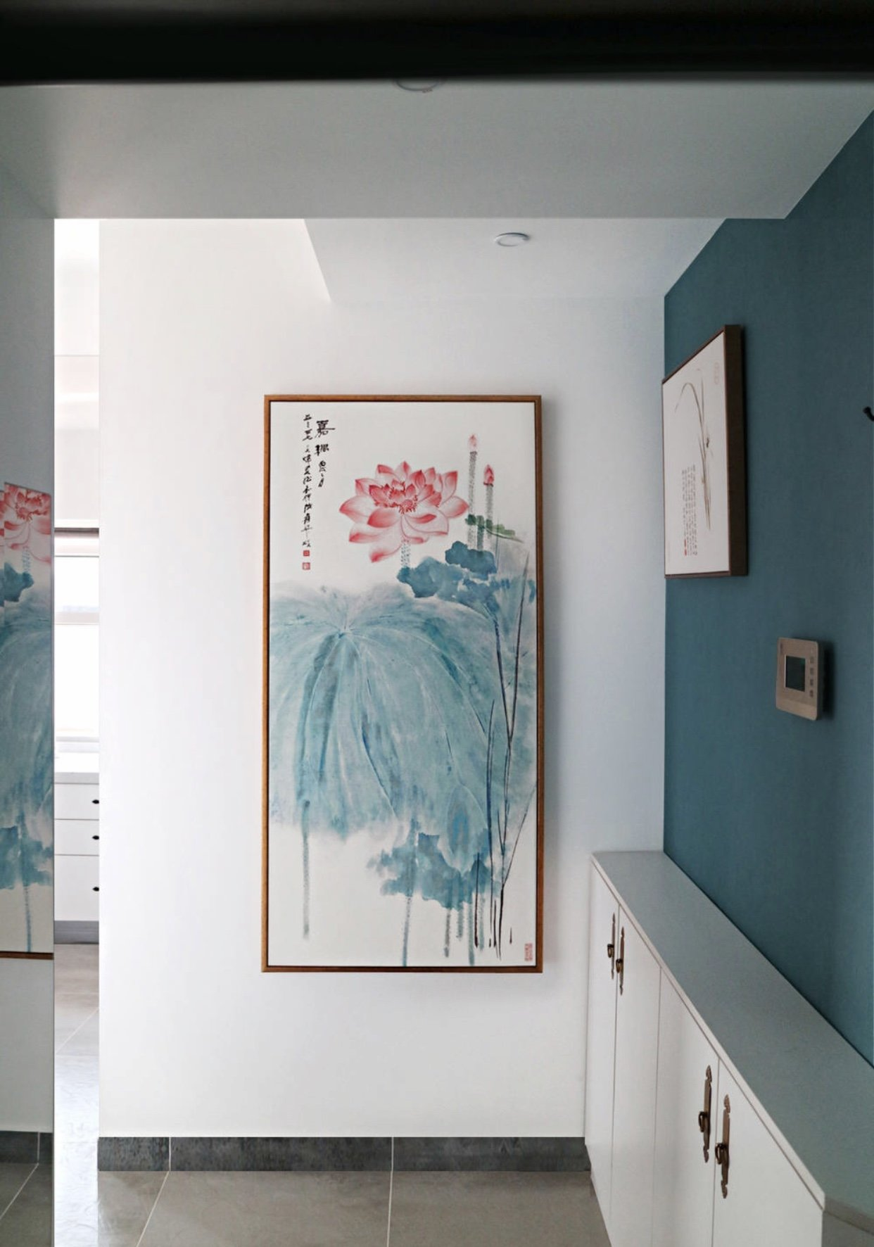 城固江湾社区中式风格装修效果图