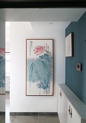 汉中80㎡中式风格装修效果图