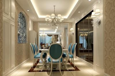 成都萨拉曼卡 简约 三居室装修设计案例