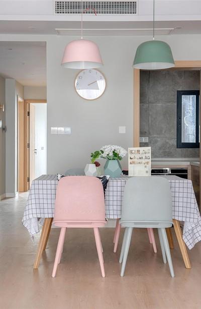 西安萨拉曼卡 简约 三居室装修设计案例