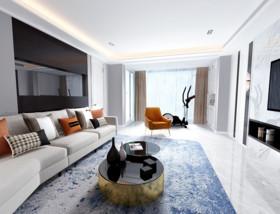 [宁波尚层装饰]西岸 现代风格 173平方米装修设计案例