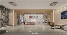 仁源集团办公室设计项目装修设计案例