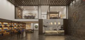 鲤商大厦装修设计案例