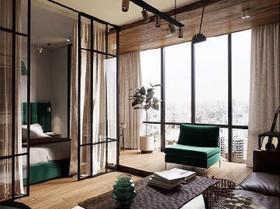 万安国际公寓装修设计案例