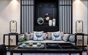 深圳140㎡中式风格装修效果图