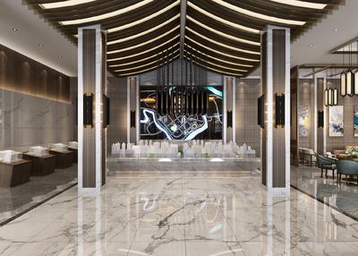 鄭州偃師售樓中心裝修設計案例