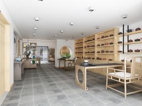 丁山紫砂壺工作室裝修設計案例