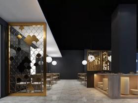 騰沖犇記餐廳裝修工程裝修設計案例