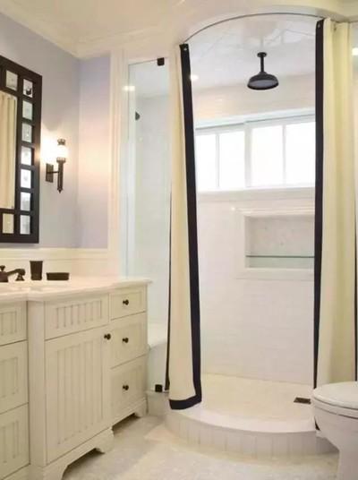 白银龙润园卫生间设计装修设计案例
