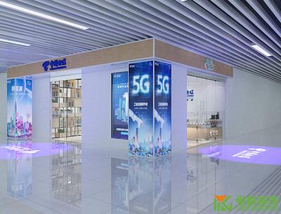 广州中国电信营业厅装修设计装修设计案例