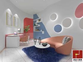 白云區化妝品展廳裝修設計案例
