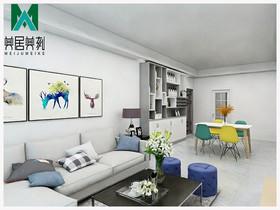 永和家园2#102装修设计案例