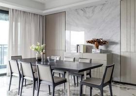 金辉C园现代三居室150平17万装修设计案例