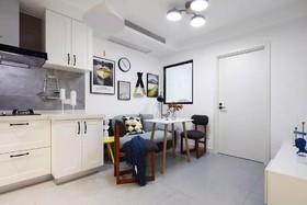 恒雨后现代城 简约二居室80平9.2万装修设计案例