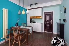 北欧风二居 清新小家装修设计案例