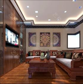 第四安居苑装修设计案例