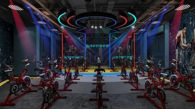 江门健身房装修设计案例
