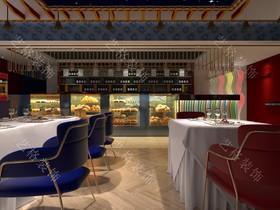 红花广场咖啡厅装修设计案例