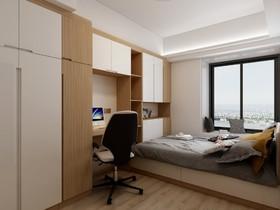珠园名宇卧室定制装修设计案例