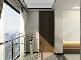 龙光阳光禧园现代简约雅居装修设计案例