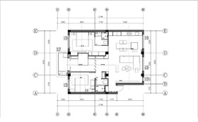 新城区家属院小区装修设计案例