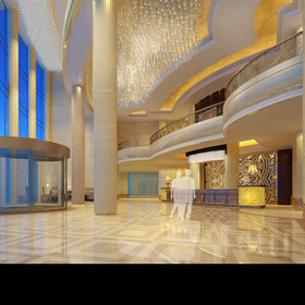 淮海国际大酒店装修设计案例