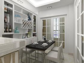 CROSS万象汇 现代简约二居室83平10万装修设计案例