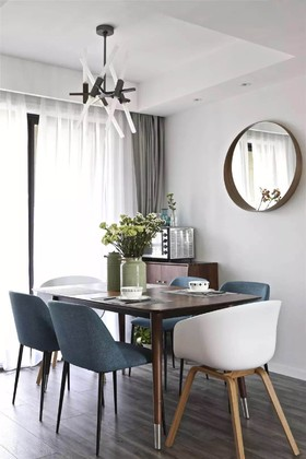中联颐华苑  北欧三居室124平14.8万装修设计案例