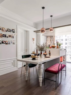 科达东御兰汀  法式轻奢三居室 116平13.9万装修设计案例