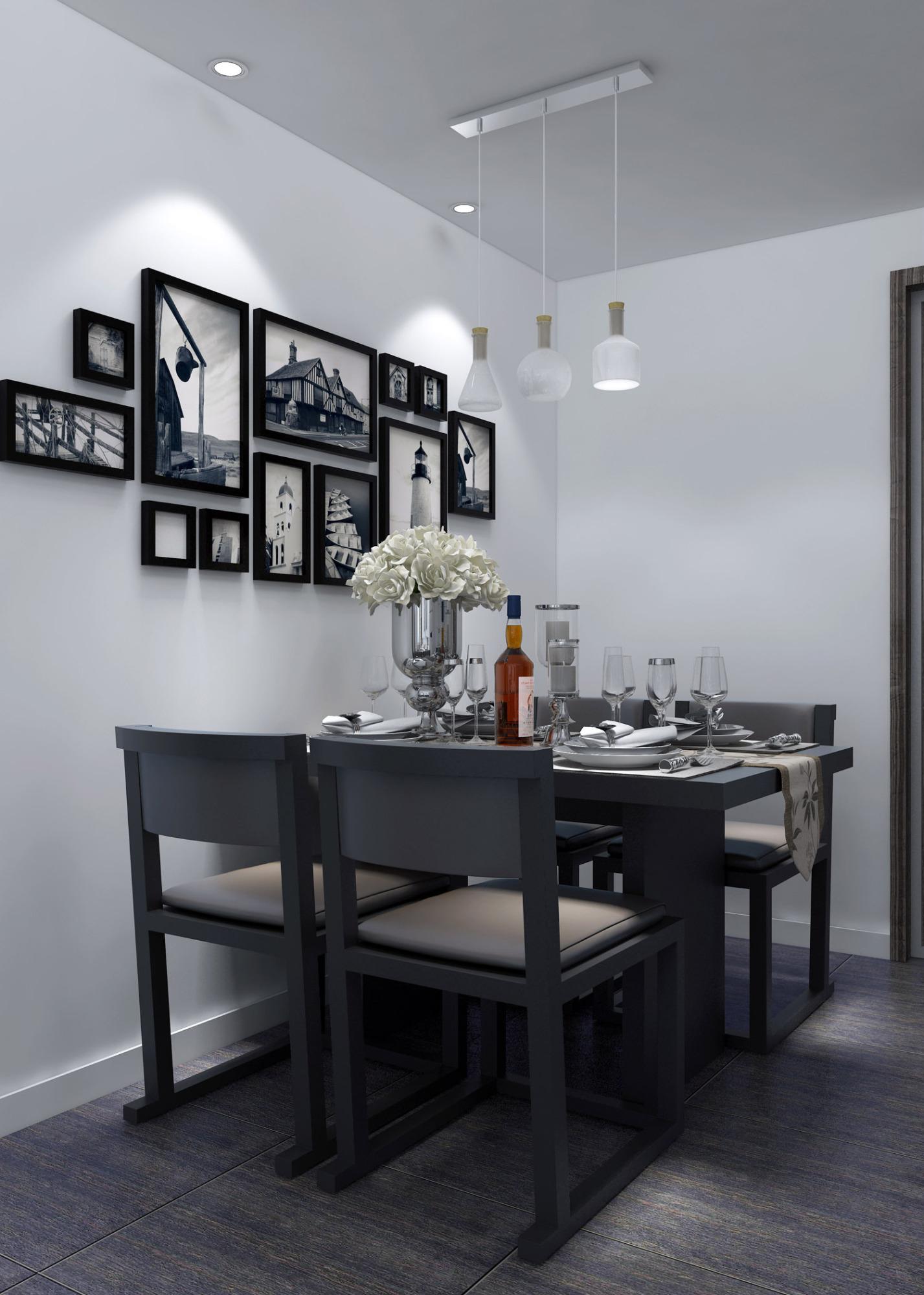 文化小区  现代简约二居室63.8平7.7万装修案例