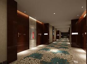 揽翠湖酒店装修设计案例
