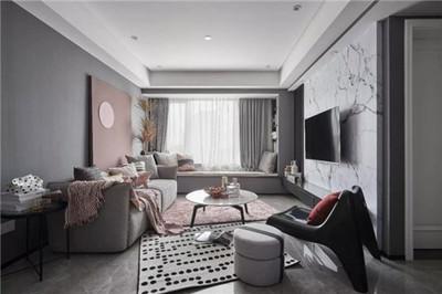 湘潭湘潭装修 上层国际 现代房装修效果图装修设计案例